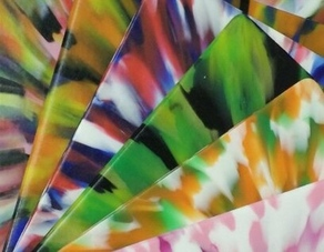 CHOICE OF TIE DYED COLORS